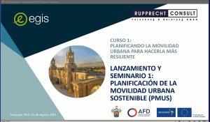 Curso 1: Planificando la movilidad urbana para hacerla más resiliente - Módulo 1: Introducción a la planificación de la movilidad urbana sostenible @ Mobility Academy
