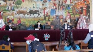 """Conferencia de prensa: """"Avances del Plan de Movilidad Urbana Sostenible de Arequipa: Campaña de Recolección de Información de Movilidad"""" @ Municipalidad Provincial de Arequipa - Hemiciclo"""